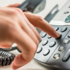 CALL CENTER – dedicated telemarketers.