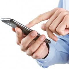 Application – mobile management of sales agents.
